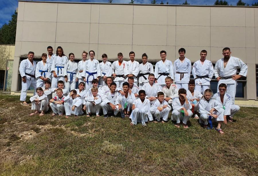 Stage d'oxygénation pour les Judokas  du JCSM